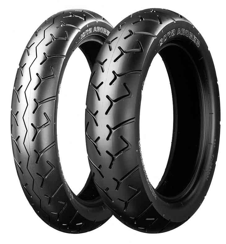 Bridgestone Exedra bias-ply G702 rear & G701 front Preview