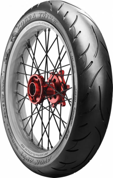Avon Cobra Chrome Trike fitment Preview