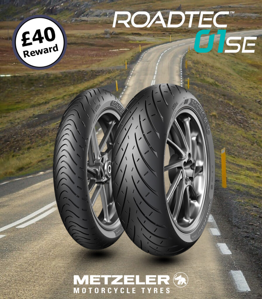 Metzeler Roadtec 01, Roadtec 01 SE + Roadtec 01 HWM Pair Deal Preview