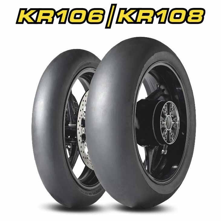 Dunlop KR106 + KR108 Racing Slicks Preview