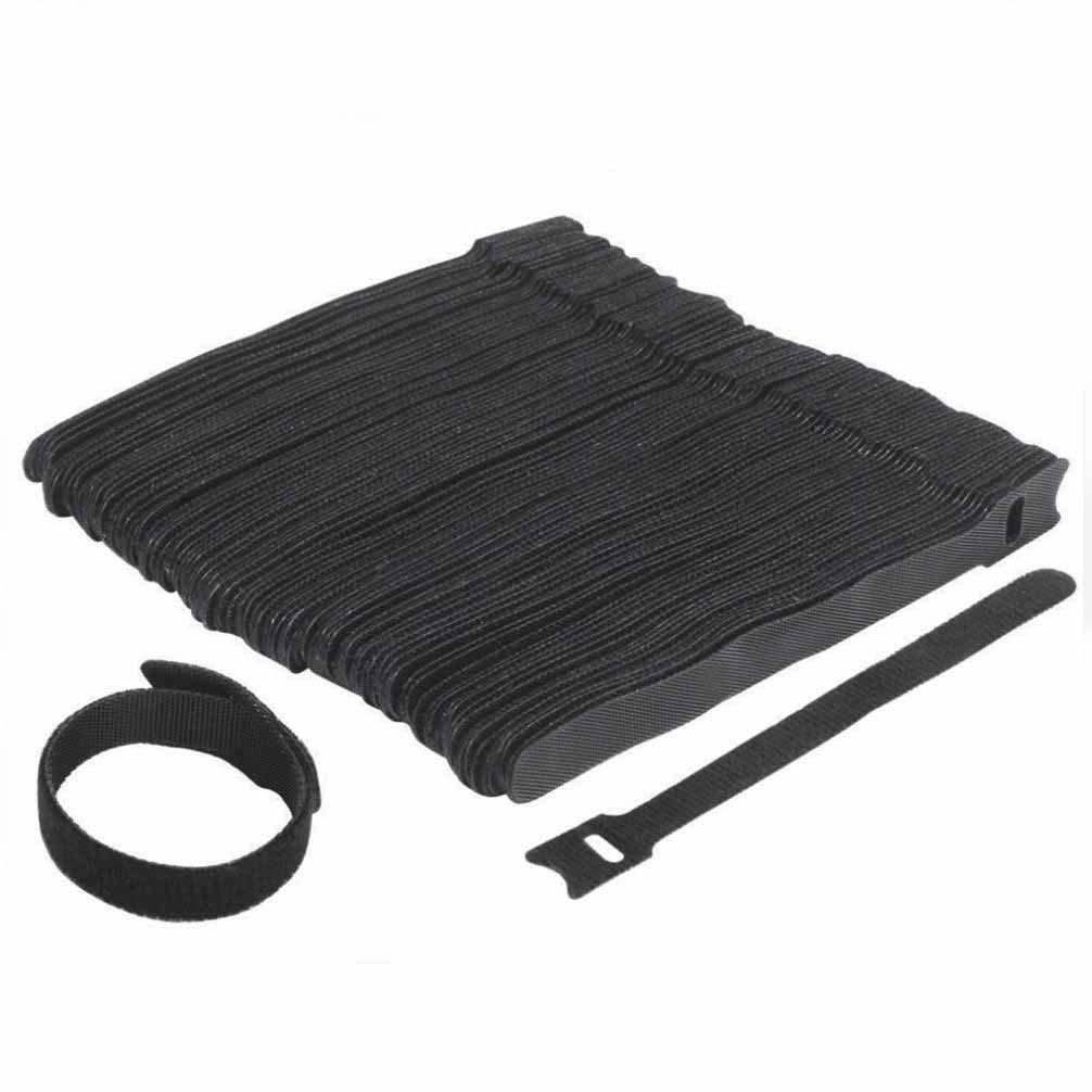 Velcro Cable Ties Black 10 Pieces Preview