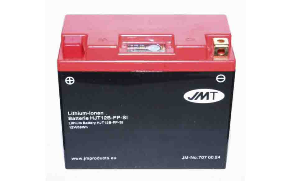 YT12B-BS Lithium Motorcycle Battery Preview