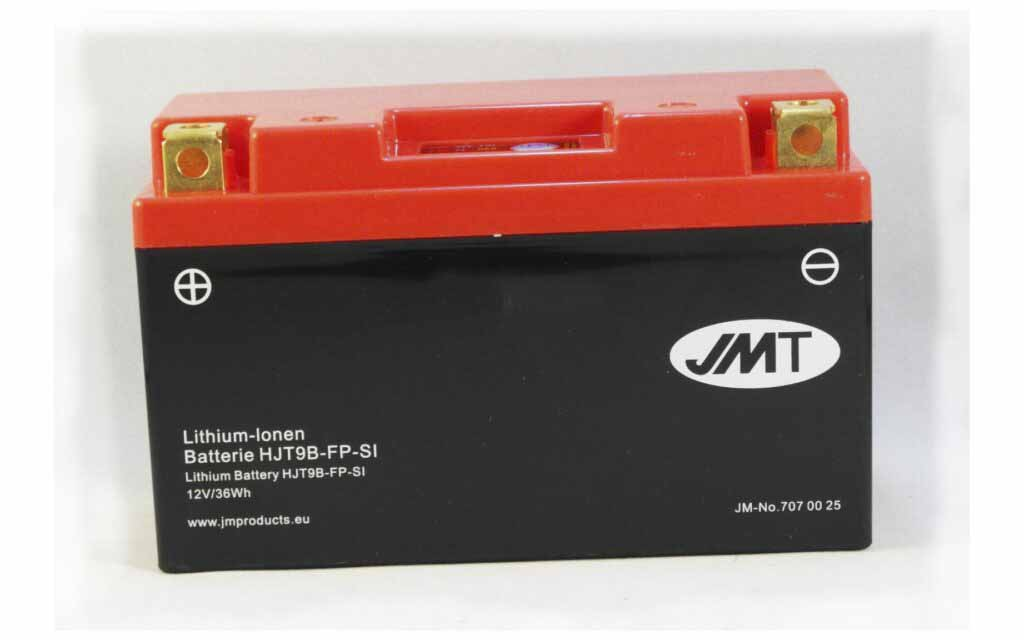 YT9B-BS Lithium Motorcycle Battery Preview