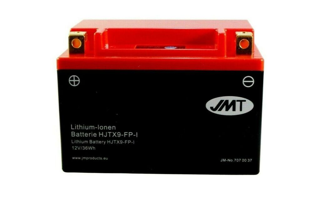 YTX9-BS Lithium Motorcycle Battery Preview