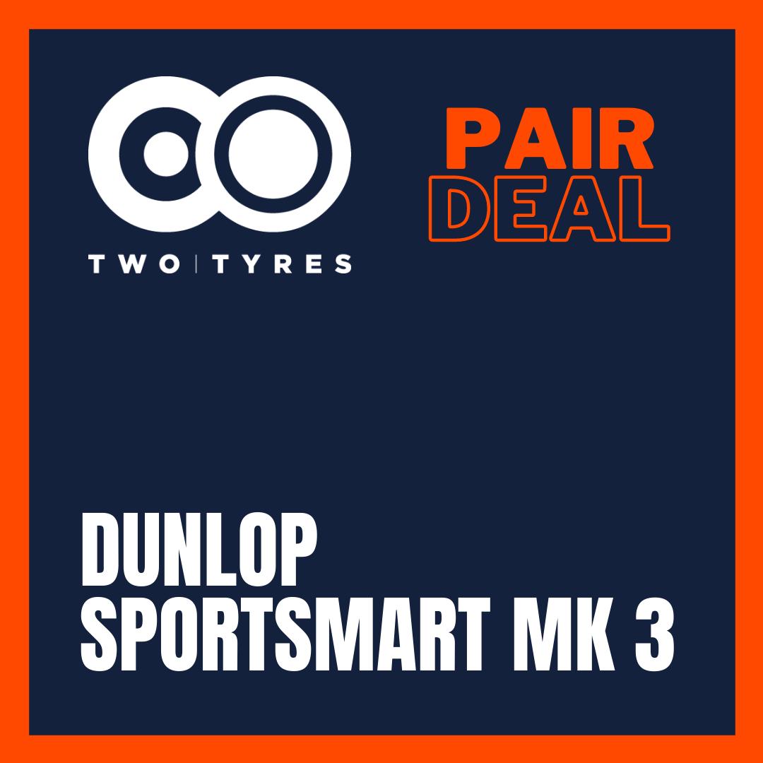 Dunlop Sportsmart Mk3 Pair Deal Preview