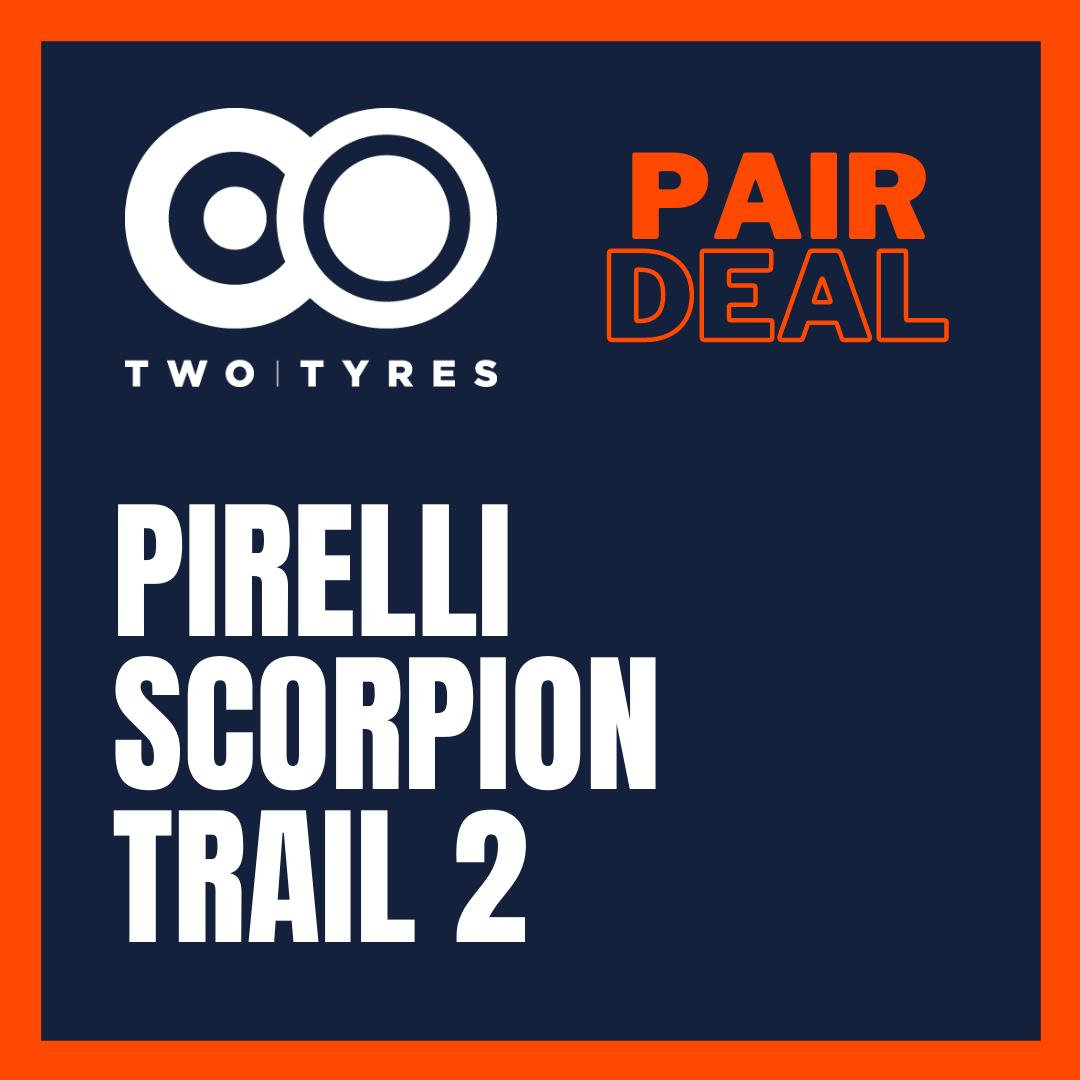 Pirelli Scorpion Trail 2 Pair Deals Preview