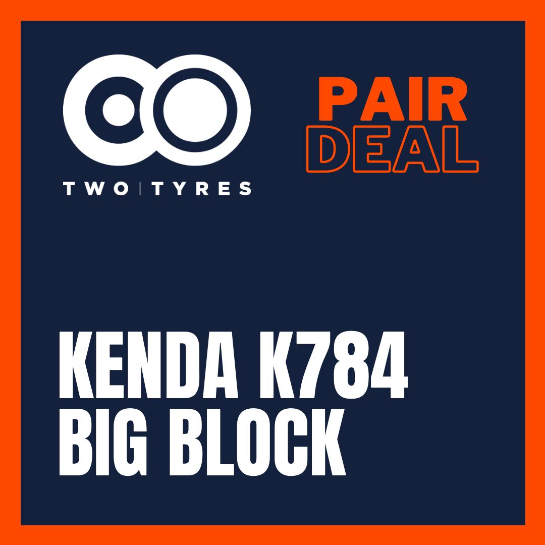 Kenda K784 Big Block Pair Deal Preview