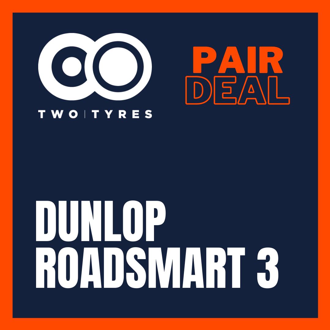 Dunlop Roadsmart III Pair Deal Preview