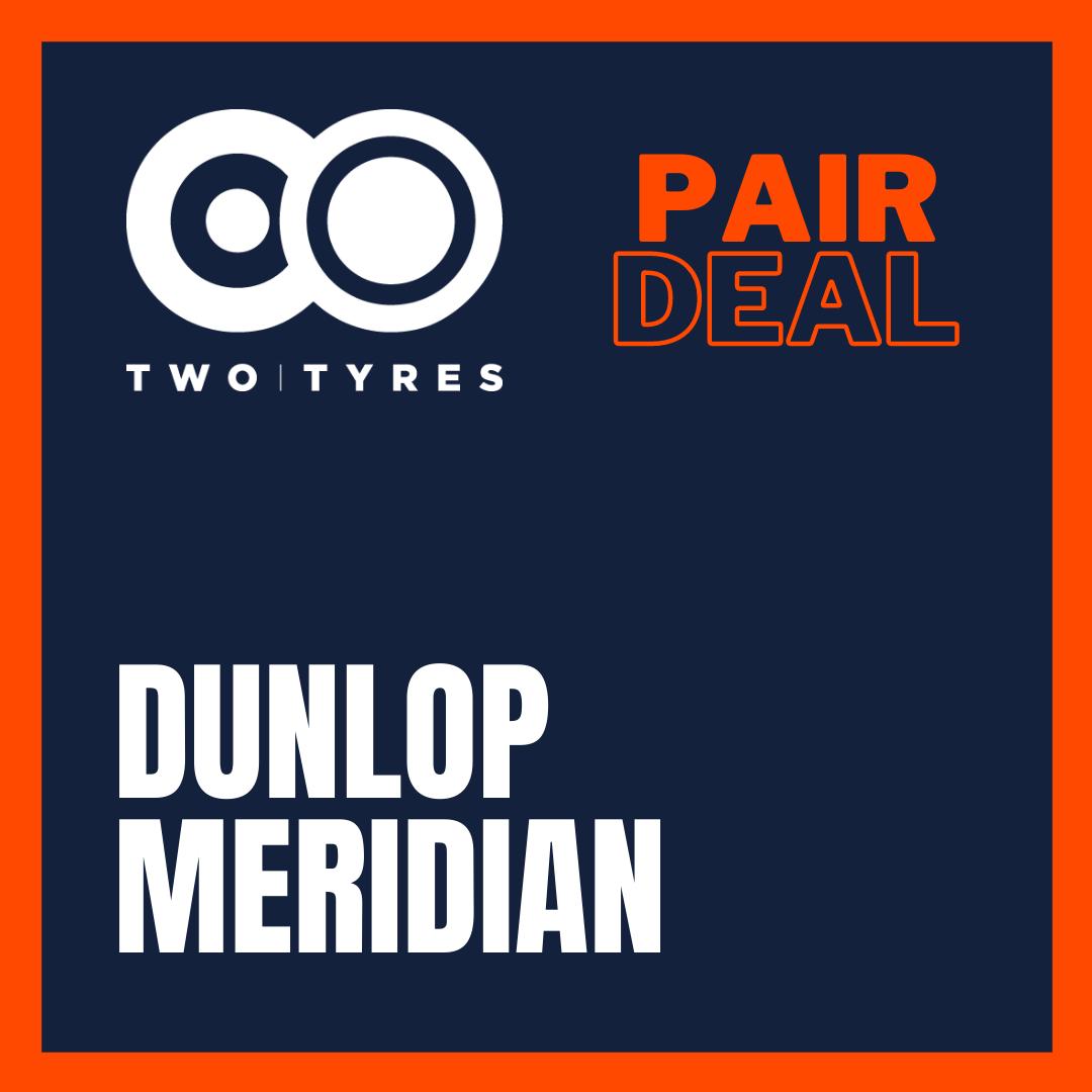 Dunlop Trailmax Meridian Pair Deal Preview