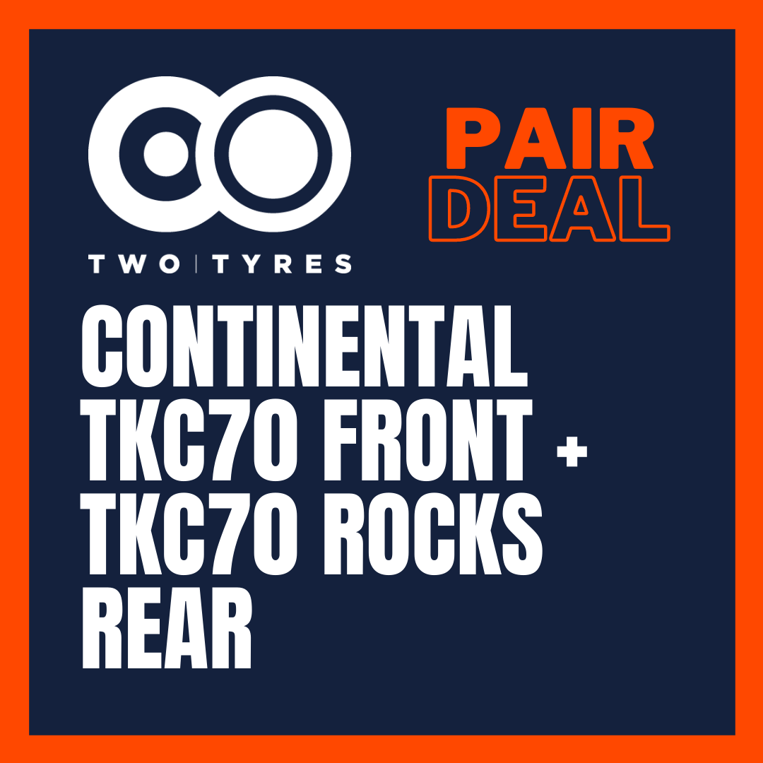 Continental TKC70 Front and TKC70 Rocks Rear Pair Deal Preview