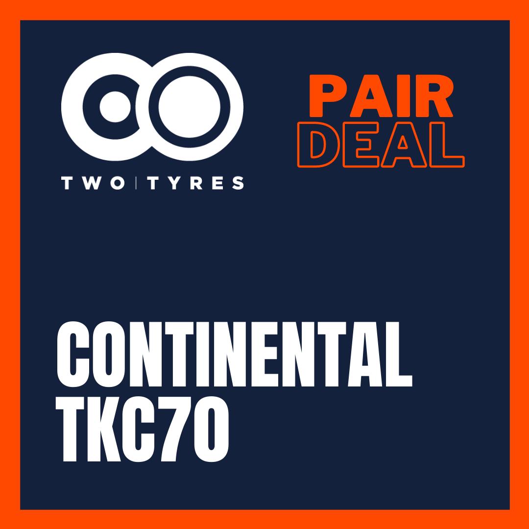Continental TKC70 Pair Deal Preview