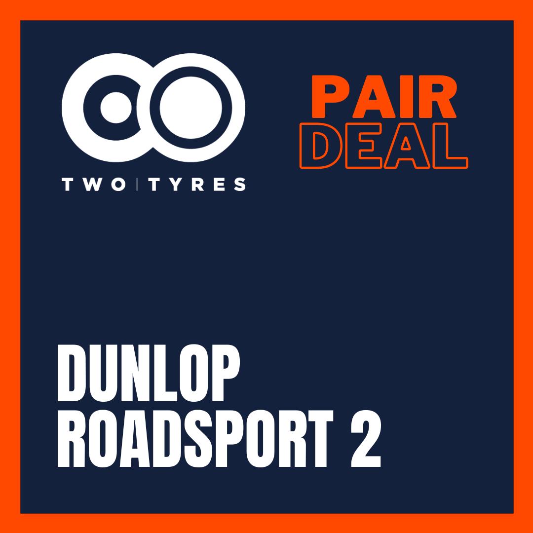 Dunlop Roadsport 2 Pair Deal Preview