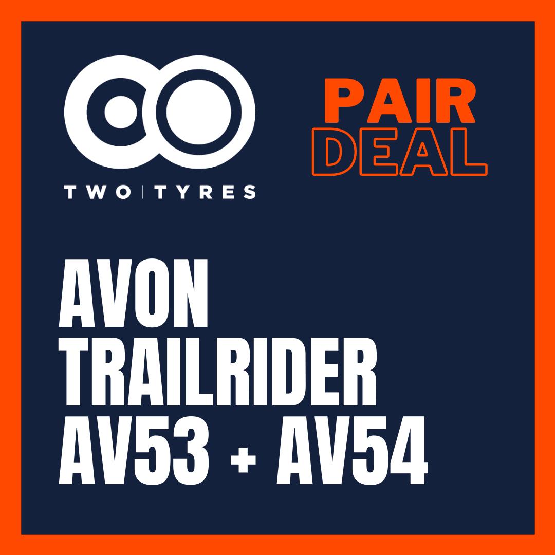 Avon Trailrider AV53 and AV54 Pair Deal Preview