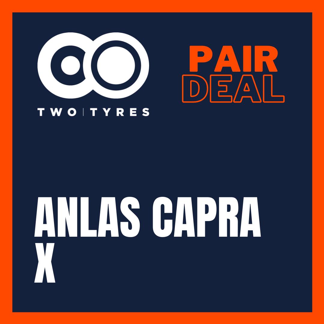 Anlas Capra X Pair Deal Preview