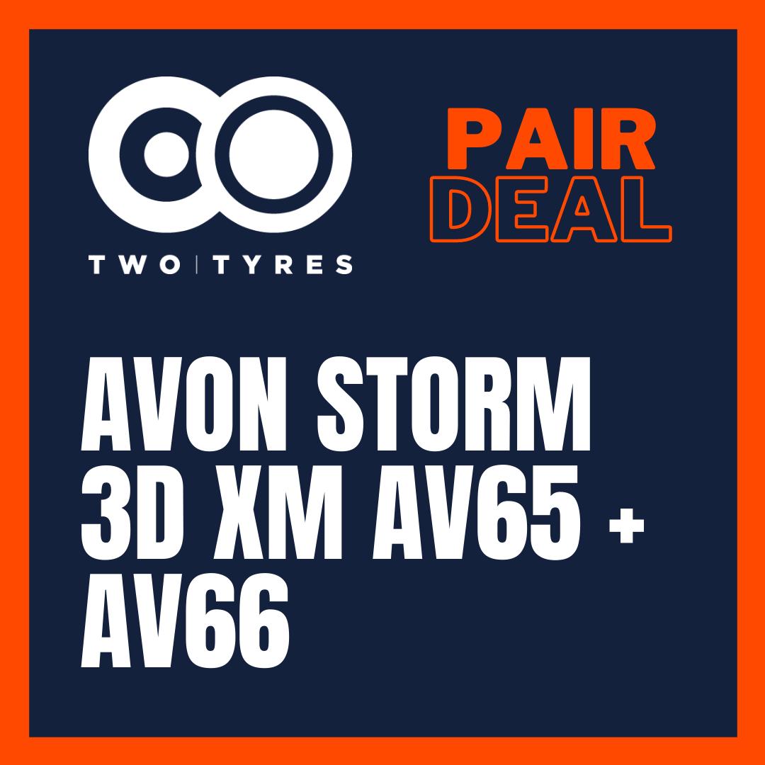 Avon Storm 3D XM AV65 & AV66 Pair Deal Preview