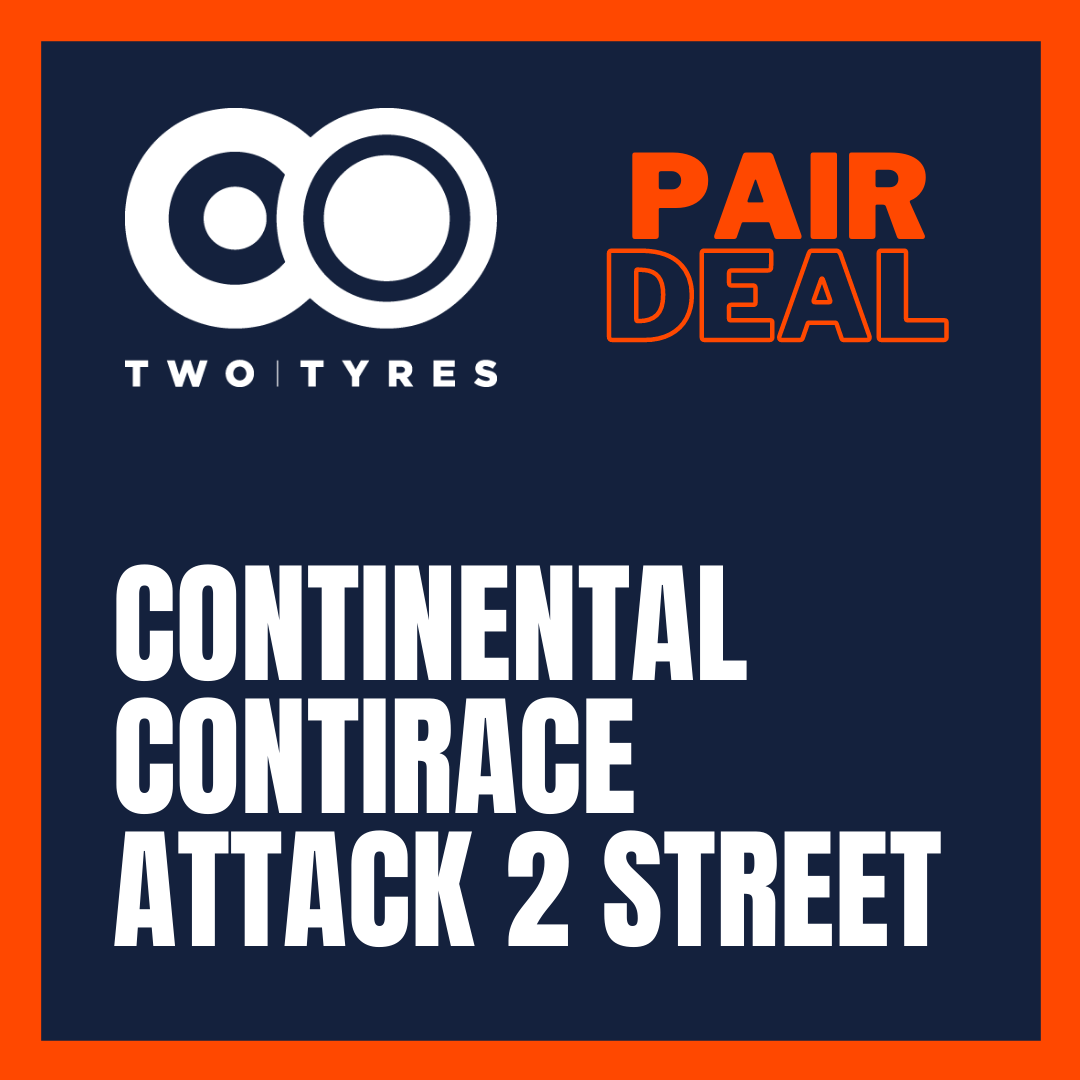 Continental ContiRace Attack 2 Street Pair Deal Preview