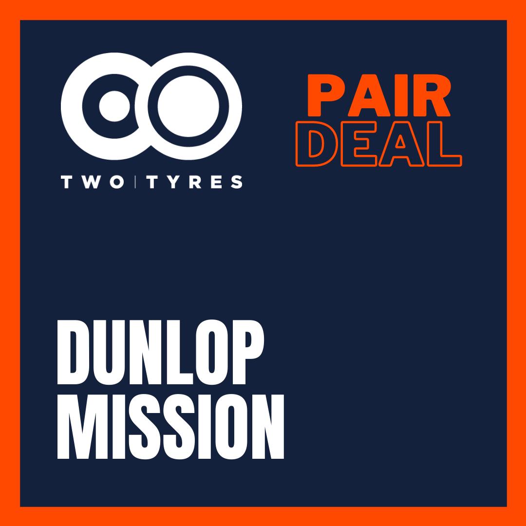 Dunlop Trailmax Mission Pair Deal Preview