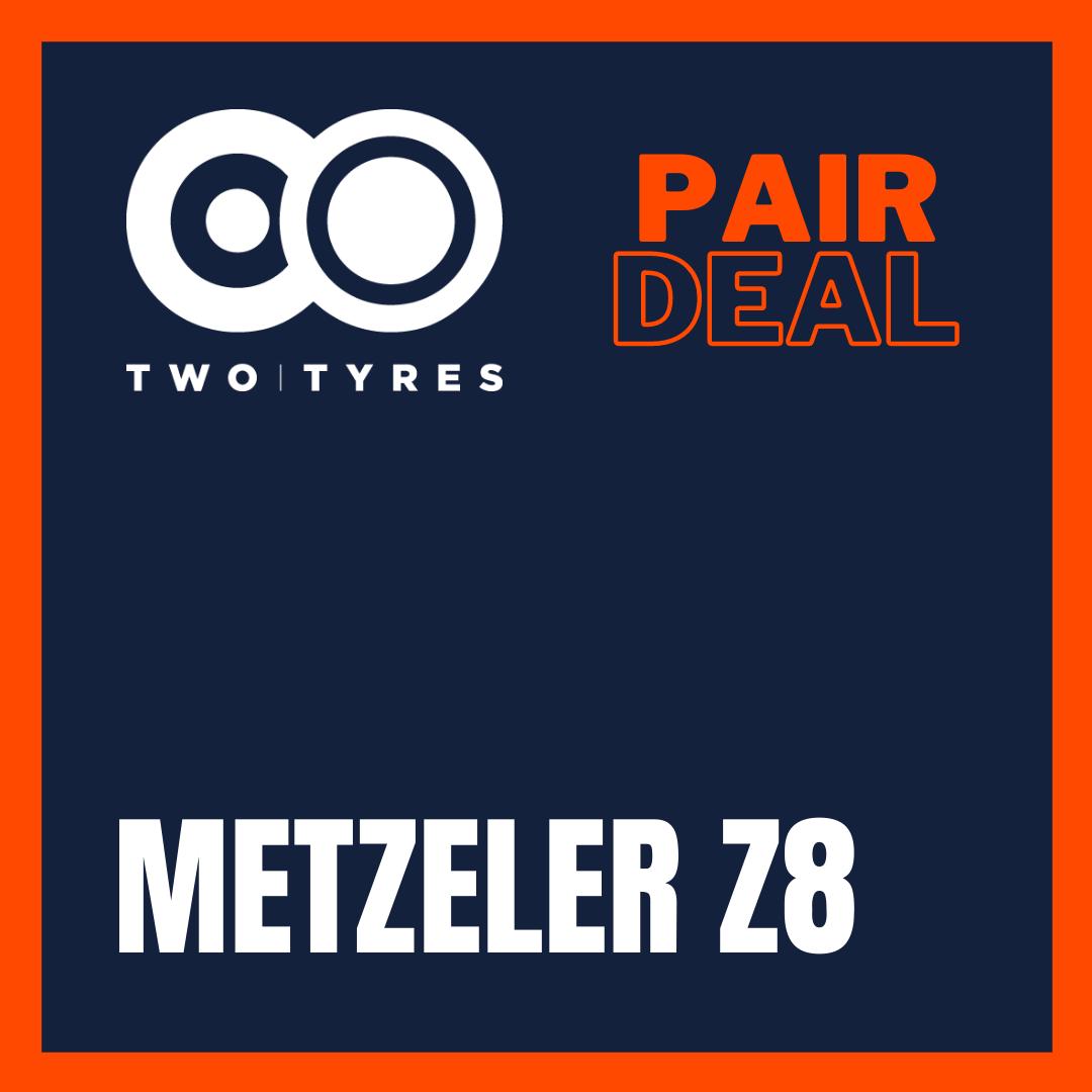 Metzeler Z8 Interact Pair Deal Preview