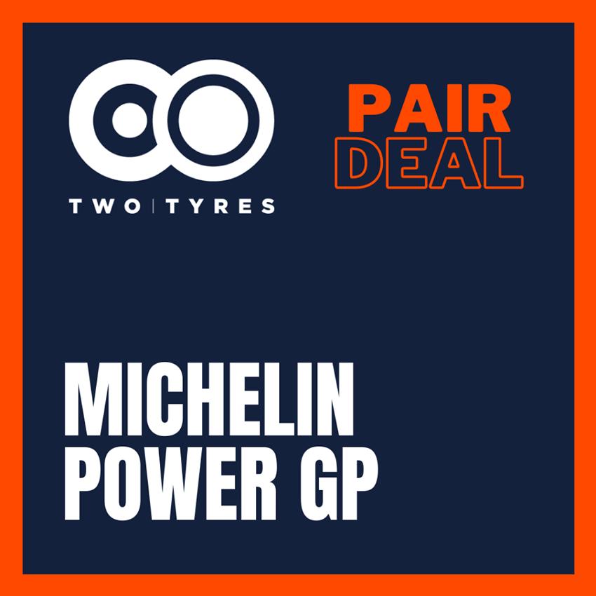 Michelin Power GP Pair Deal Preview
