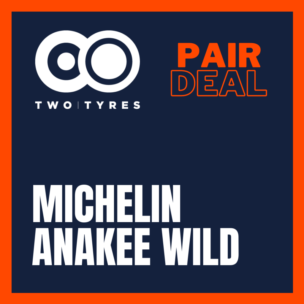 Michelin Anakee Wild Pair Deal Preview
