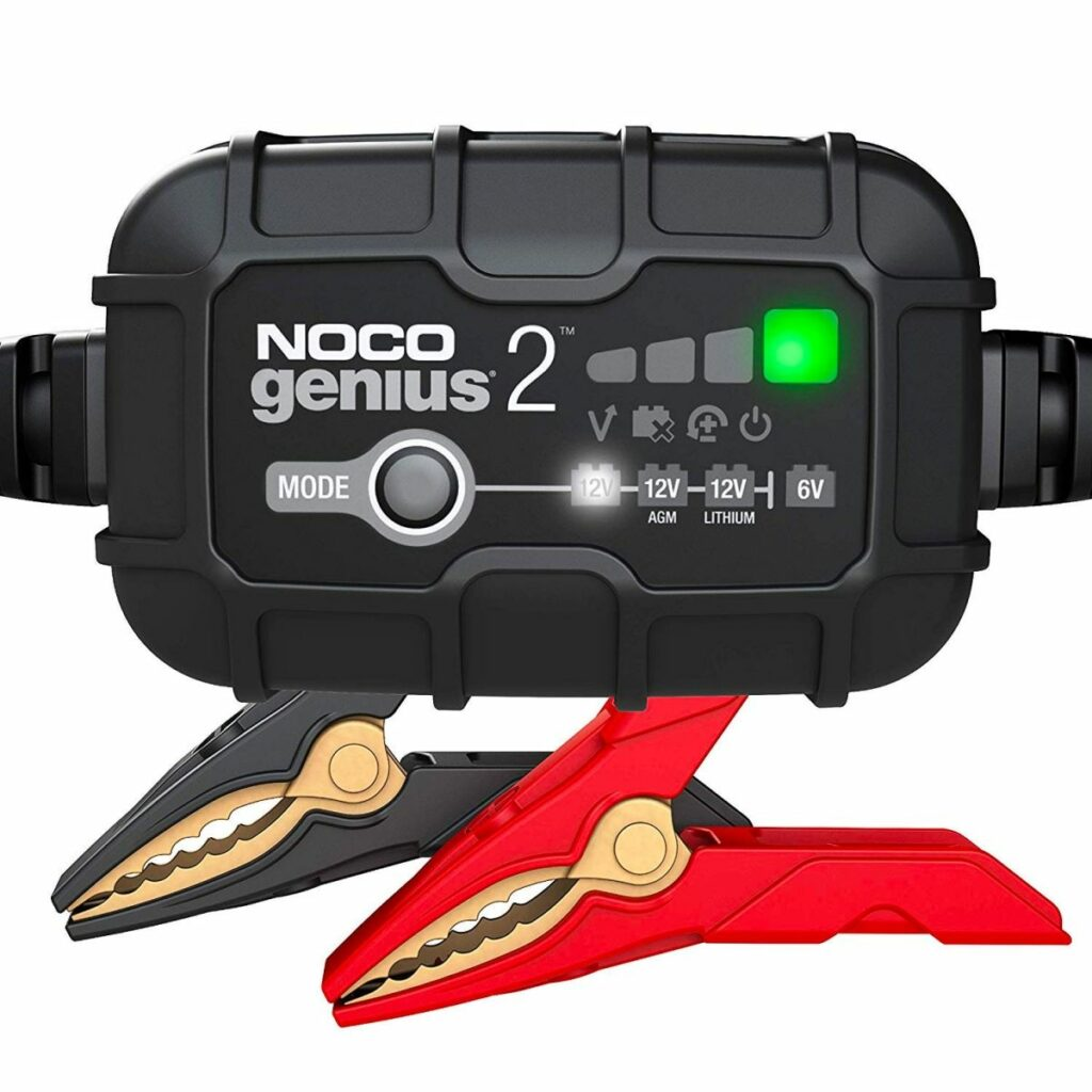 NOCO GENIUS 2 – MOTORCYCLE BATTERY CHARGER Preview