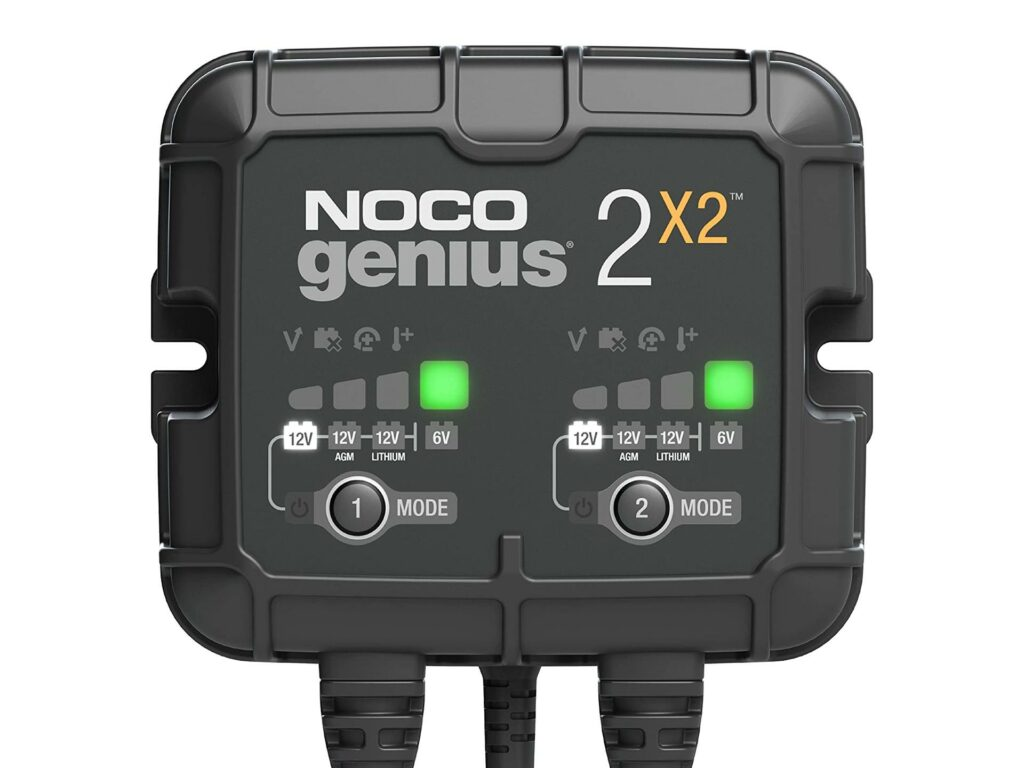 NOCO GENIUS 2×2 – MOTORCYCLE BATTERY CHARGER Preview