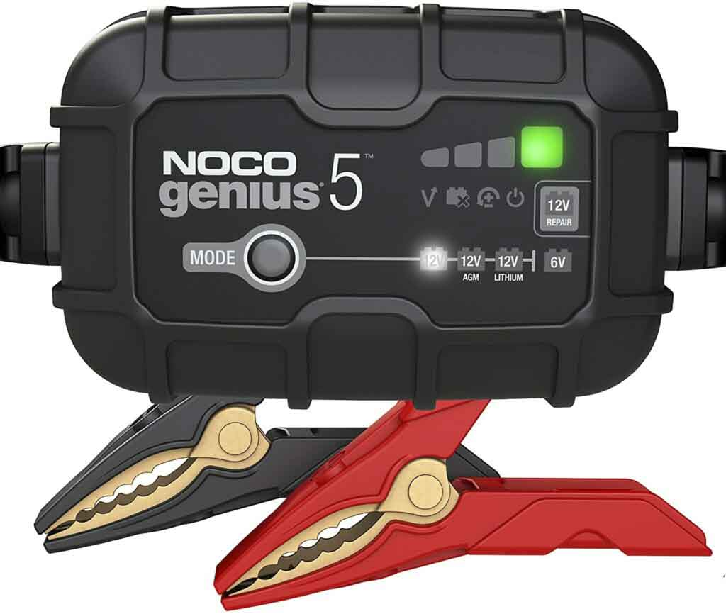 NOCO GENIUS 5 – MOTORCYCLE BATTERY CHARGER Preview