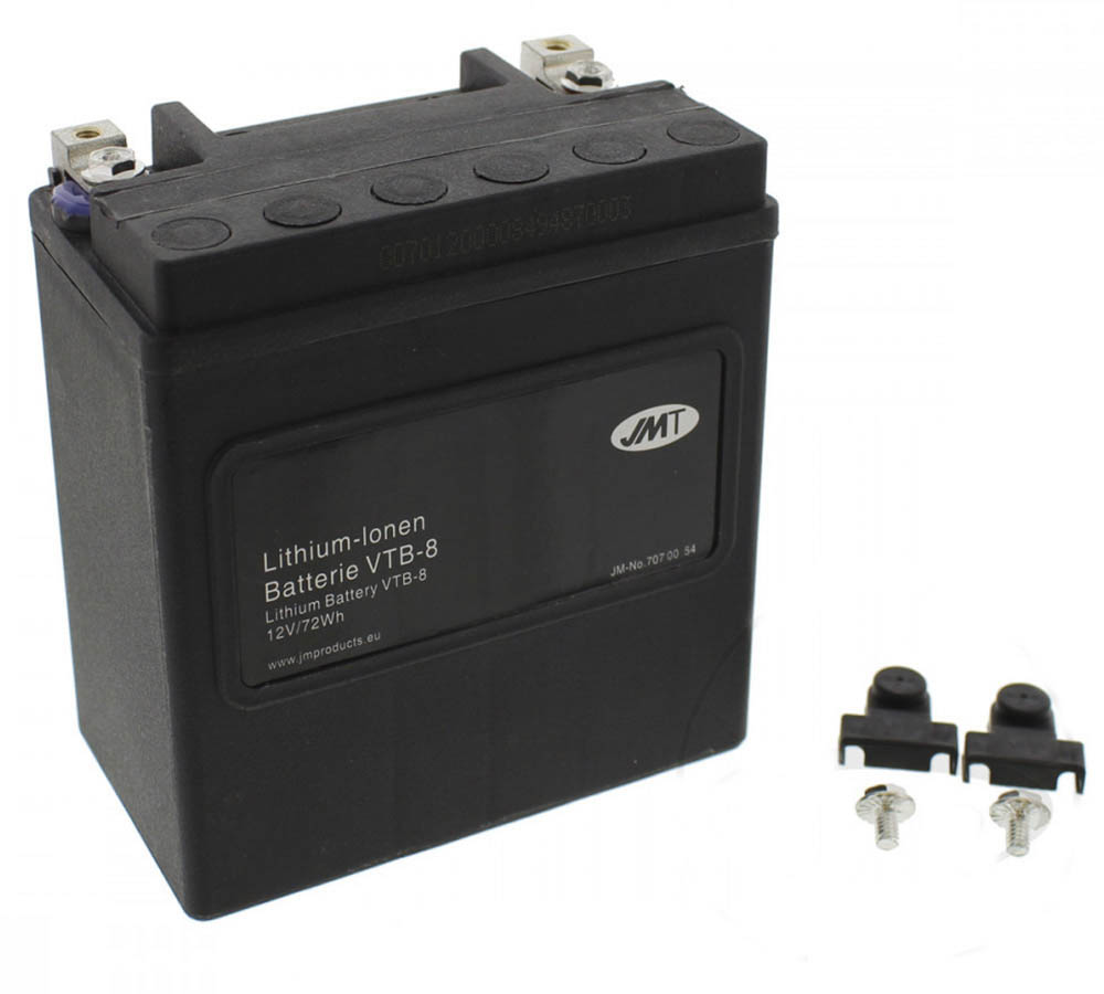 Harley Davidson 65948-00 Lithium Battery VTB-8 Preview