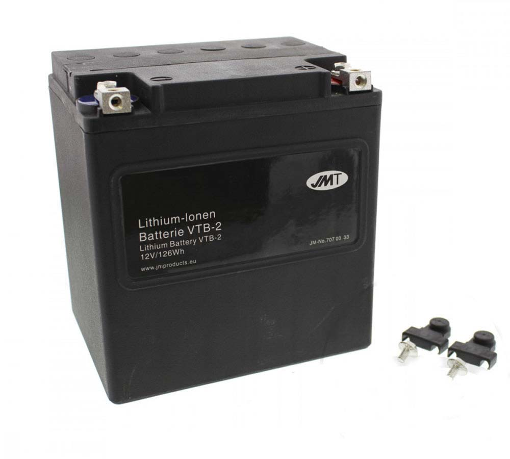Harley Davidson 66010 Lithium Battery VTB-2 Preview